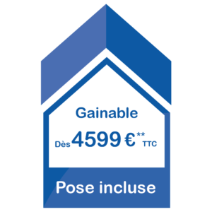 Pose incluse Gainable