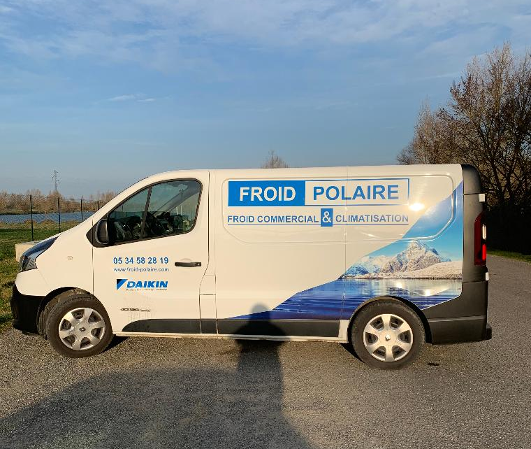 Froid Polaire : froid commercial et climatisation